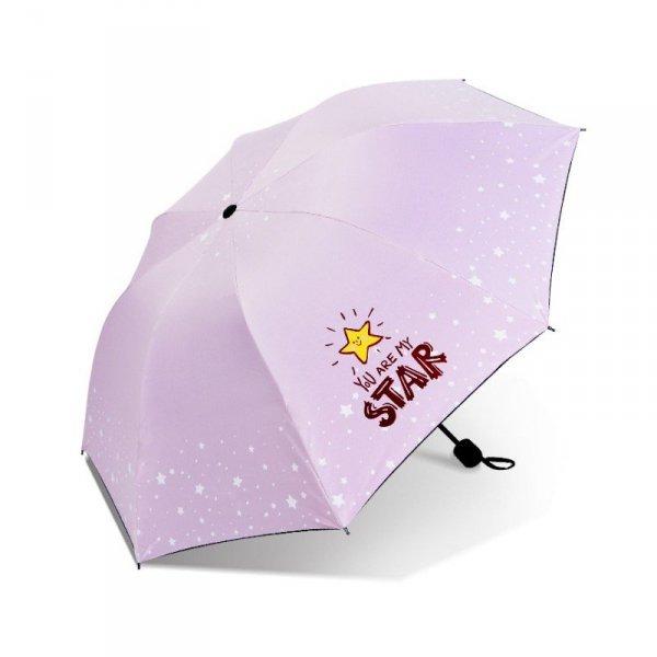 Parasol umbrella Star róż PAR06R