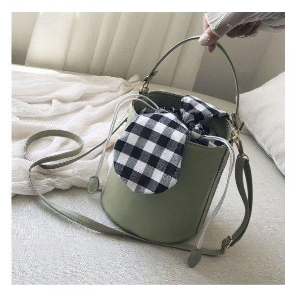 Torebka skórkowa koszyk na ramię piękna T216ZIE