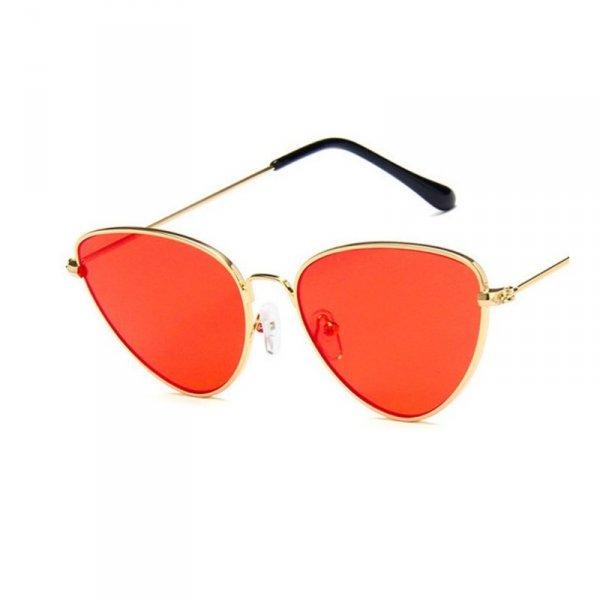 Okulary przeciwsłoneczne OVL kocie pomarańcz R79WZ4