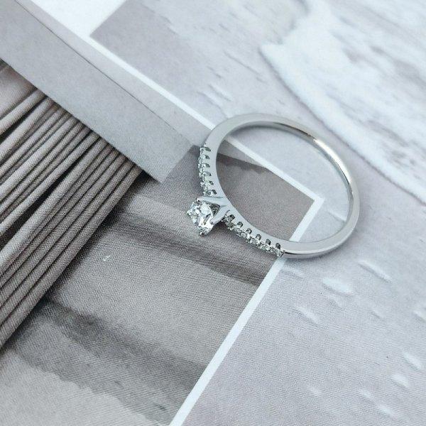 Pierścionek stal chirurgiczna platerowana złotem 561, Rozmiar pierścionków: US10 EU22
