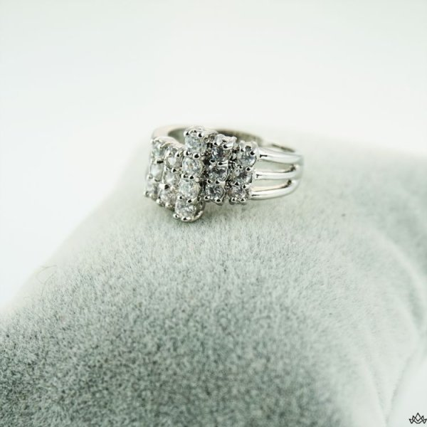 PIERŚCIONEK STAL CHIRURGICZNA 379, Rozmiar pierścionków: US8 EU17