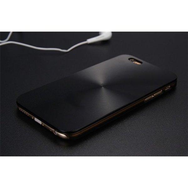ALUMINIOWE ETUI CASE NA TELEFON IPHONE 5/5S - CZARNE ETUI21