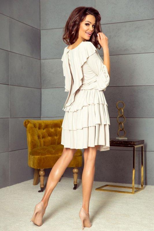Sukienka z falbaniastą spódnicą
