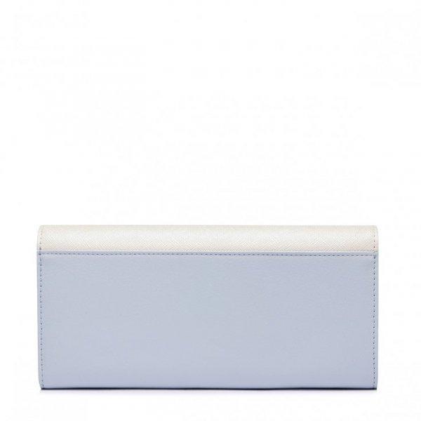 JUST STAR Kosmiczny długi portfel Niebieski