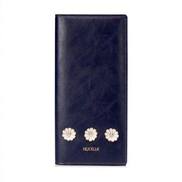 NUCELLE Kwiatowy długi portfel