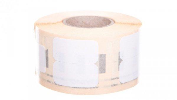 Etykieta podwójna do drukarek 24x12mm biała S0722530 /1rolka-1000szt./