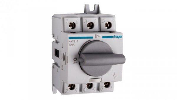 Rozłącznik izolacyjny 3P 100A HAC310