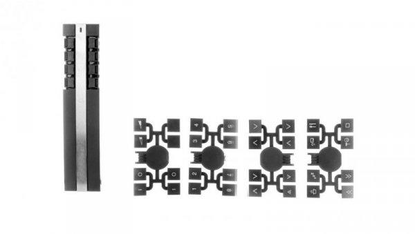 Unica Plus Pilot zdalnego sterowania RF 8 kanałów stal CCT1A000