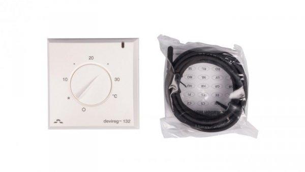 Termostat DEVIreg 132 230V 16A 5-30°C IP30 biały 140F1011