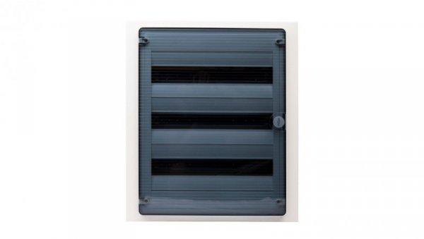 Rozdzielnica modułowa 3x18 podtynkowa IP40 Golf (drzwi transparentne) VF318TD