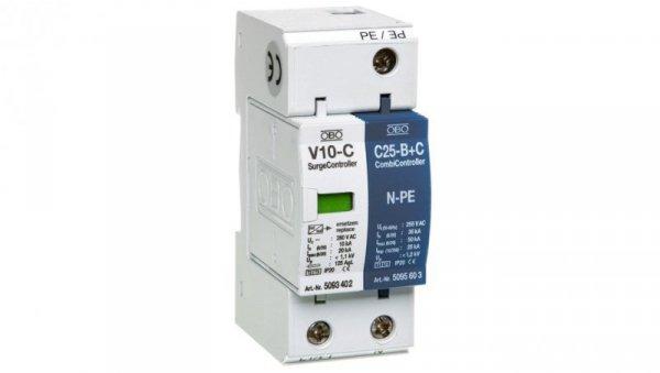 Ogranicznik przepięć C Typ 2+D 2P 10kA 1,1kV V10-C 1+NPE-280 5093418