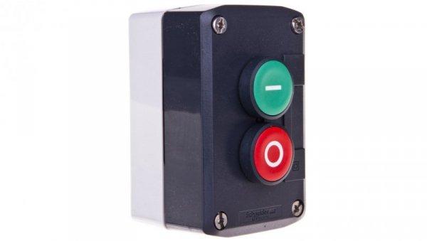 Kaseta sterownicza 2-otworowa z przyciskami zielony/czerwony IP65  XALD213