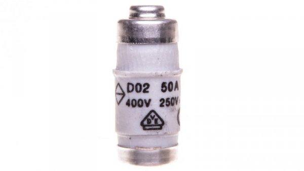 Wkładka bezpiecznikowa BiWtz 50A D02 gG 400V LE1850