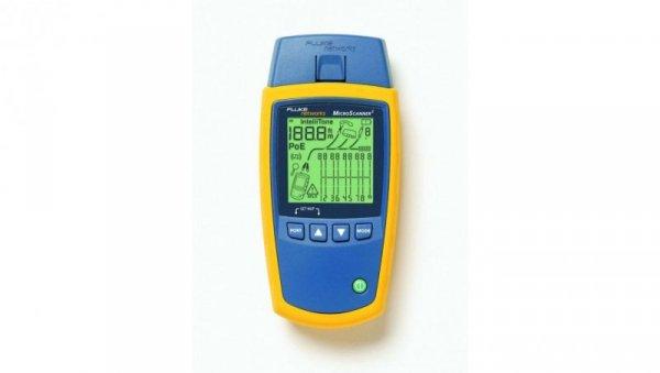 Tester okablowania MicroScanner serii 2 wyposażenie standardowe Fluke FL-MS2-100