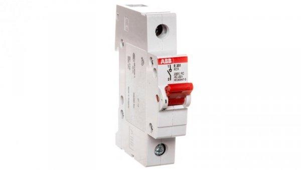 Rozłącznik modułowy 63A 1P E201/63A 2CDE281001R0063