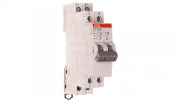 Przełącznik modułowy I-0-II 16A 2P 250V AC E214-16-202 2CCA703030R0001