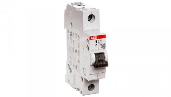 Wyłącznik nadprądowy 1P C 3A 6kA AC S201-C3 2CDS251001R0034