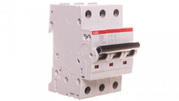 Wyłącznik nadprądowy 3P C 63A 6kA AC S203-C63 2CDS253001R0634