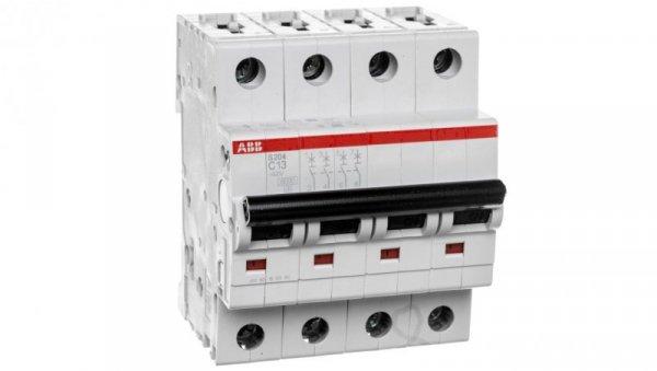 Wyłącznik nadprądowy 4P C 13A 6kA AC S204-C13 2CDS254001R0134