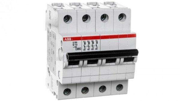 Wyłącznik nadprądowy 4P D 13A 6kA AC S204-D13 2CDS254001R0131