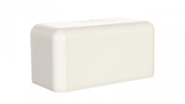 Pokrywa końcowa EKE 140x60mm biała 8561