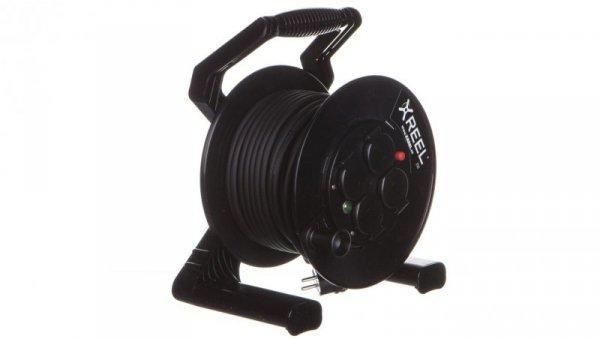 Przedłużacz bębnowy XREEL 30mb H05RR-F 3x1,5 IP54 4xGS 230V 92501H48163
