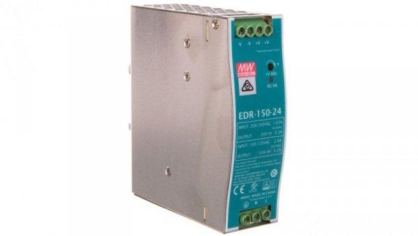 Zasilacz impulsowy 24VDC 6,5A 156W EDR-150-24