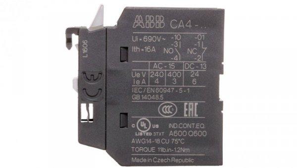 Styk pomocniczy 0Z 1R montaż czołowy CA4-01 1SBN010110R1001