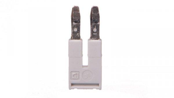 Mostek wtykany 2-biegunowy 5,2mm szary FBS 2-5 GY 3038969 /50szt./