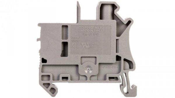 Złączka szynowa 2-przewodowa 6mm2 śrubowa/wtykowa szara UT 6/1P 3060539 /50szt./
