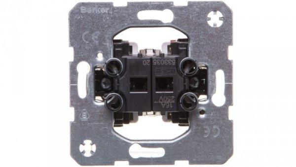 One.Platform Łącznik żaluzjowy dwuklawiszowy 53303520