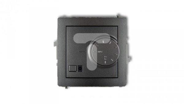 DECO Regulator temperatury elektroniczny z czujnikiem powietrznym grafitowy 11DRT-2