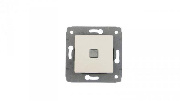 CARIVA Przycisk jednobiegunowy 1Z z podświetleniem biały 773613