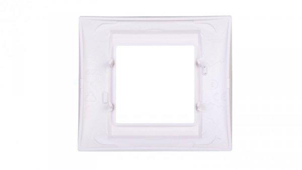 Unica Plus Ramka pojedyncza błękit lodowy pozioma i pionowa MGU6.002.854
