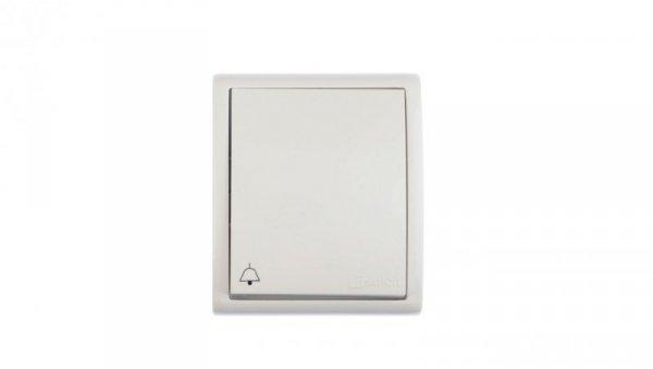 Simon Aquarius Przycisk hermetyczny /dzwonek/ IP54 biały AQD1L/11