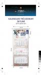 Kalendarz trójdzielny SKYLINE, z wypukłą główką, bez koperty, druk jednostronny kolorowy (4+0), główka kaszerowana + folia błysk, podkład z lakierem dyspersyjnym, główka - kreda mat 300 g, podkład - karton 300 g, 3 bloki kalendarium, okienko - 50 szt.