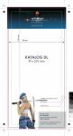 katalog DL, druk pełnokolorowy obustronny 4+4, na papierze kredowym, kreda 170 g, 28 str., 10 sztuk