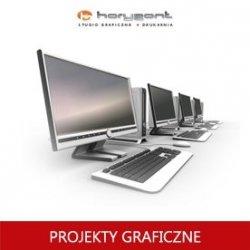 projekt graficzny, skład z przygotowaniem do druku pliku graficznego - kalendarza jednodzielnego (do produkcji Horyzont)