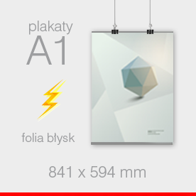 plakaty A1 - 594 x 841 mm