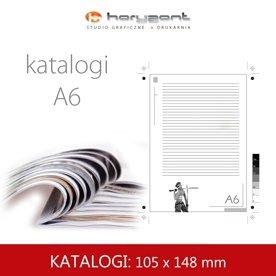 katalog A6 - 105 x 148 mm