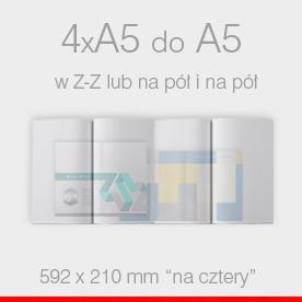 4 x A5 do A5