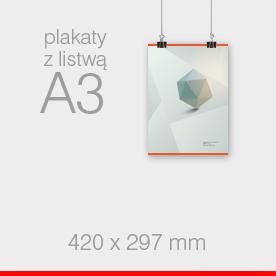 A3 - 297 x 420 mm