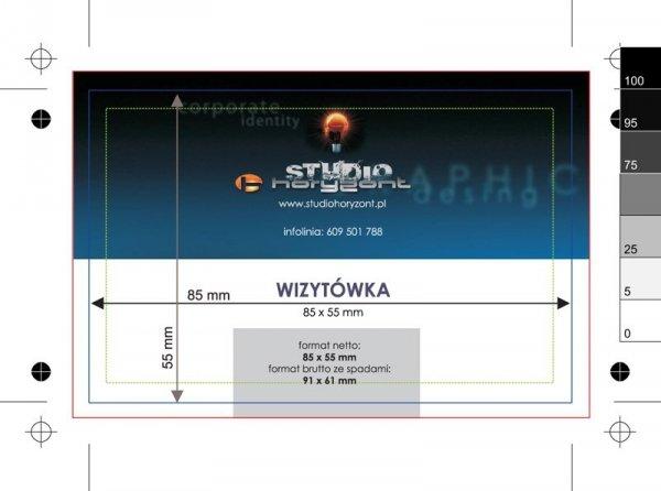 wizytówki multiloft, druk dwustronny pełnokolorowy 4+4, wypełnienie kolor pantone - 150 sztuk