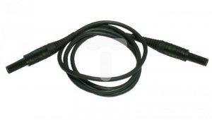 Przewód pomiarowy 1,2m czarny PAT-805 WAPRZ1X2BLBB2X5