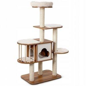 Drapak dla kota 4-poziomowa wieża 142 cm