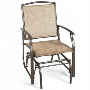 Fotel ogrodowy bujany