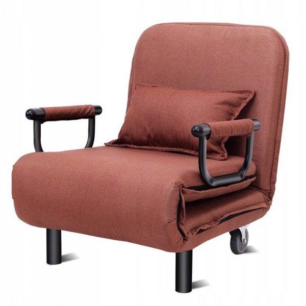 Rozkładany fotel leżanka 3w1