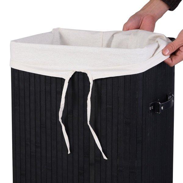 Kosz bambusowy na pranie ubrania