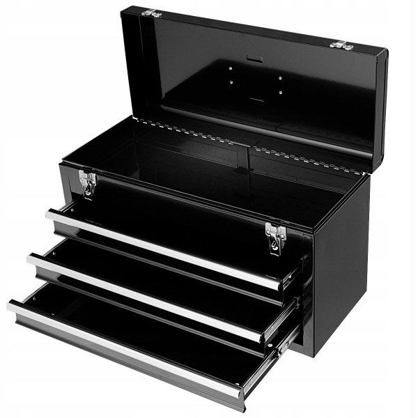 Skrzynka narzędziowa warsztatowa z szufladami