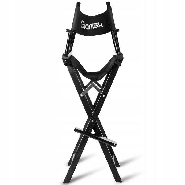 Krzesło do makijażu make-up składane drewniane